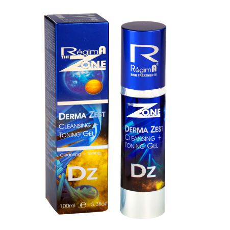 Derma Zest Cleansing & Toning Gel